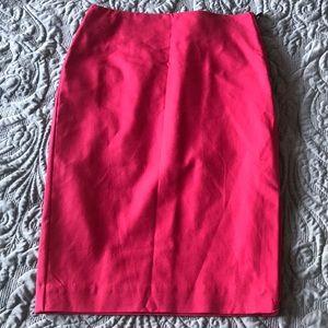New Worthington Coral Pencil Skirt Size 8